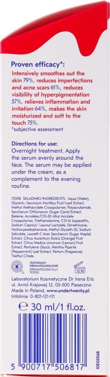 Anti-Akne Peelingserum für das Gesicht - Under Twenty Anti Acne Concentrated Exfoliating Serum — Bild N3