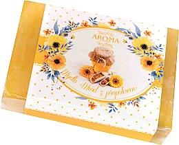 Düfte, Parfümerie und Kosmetik Seife Honig mit Propolis - Delicate Organic Aroma Soap