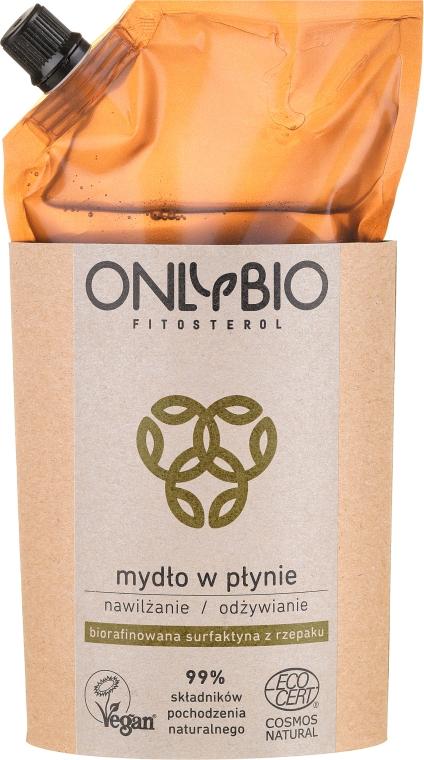 Feuchtigkeitsspendende und nährende Flüssigseife - Only Bio Fitosterol (Doypack) — Bild N1