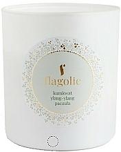 Düfte, Parfümerie und Kosmetik Duftkerze im Glas Kumquat, Ylang-Ylang, Patschuli - Flagolie Soy Candle
