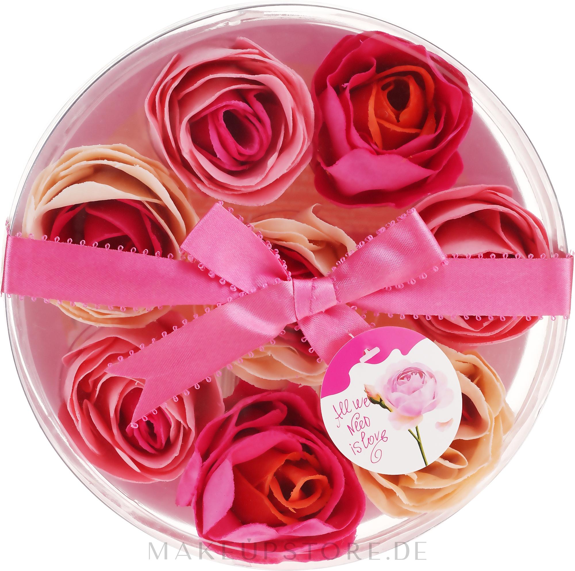 Seifenkonfetti mit Rosenduft 8 St. - Spa Moments Bath Confetti Rose — Bild 8 x 16 g