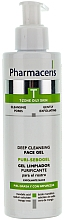 Düfte, Parfümerie und Kosmetik Antibakterielles Gesichtsreinigungsgel gegen Akne - Pharmaceris T Puri-Sebopeel Gel