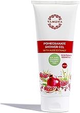 Düfte, Parfümerie und Kosmetik Duschgel mit Aloe- und Granatapfelextrakt - Yamuna Pomegranat Aloe Vera Extract Shower Gel