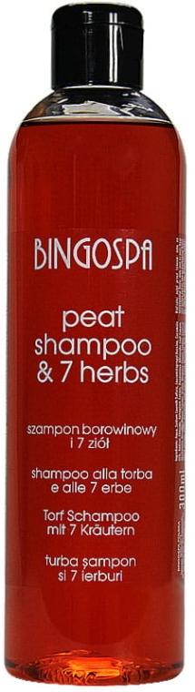 Torf-Shampoo mit 7 Kräutern - BingoSpa Shampoo Mud And 7 Herbs — Bild N1