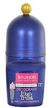 Düfte, Parfümerie und Kosmetik Deo Roll-on Antitranspirant - Bourjois Antiperspirant 72 H Deo Roll-on High Trust