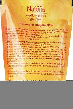 Flüssige Handseife mit Grapefruit - Joanna Naturia Body Grapefruit Liquid Soap (Nachfüller) — Bild N2