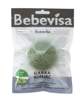 Konjac-Schwamm für das Gesicht mit grünem Tee - Bebevisa Konjac Sponge — Bild N1