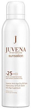 Anti-Aging Öl-Spray für Körper mit Sonnenschutz LSF 25 - Juvena Sunsation Superior Anti-Age Dry Oil Spray SPF25 — Bild N1