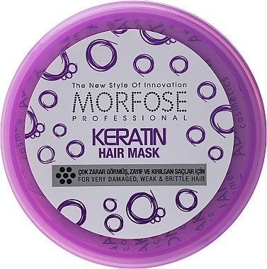 Maske für sehr geschädigtes, schwaches und sprödes Haar mit Keratin - Morfose Buble Keratin Hair Mask — Bild N5