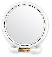 Düfte, Parfümerie und Kosmetik Kosmetikspiegel mit Ständer 5046 weiß - Top Choice