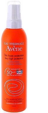 Wasserfestes Sonnenschutzspray für Kinder SPF 50+ - Avene Solaires Spray For Children SPF 50+ New Texture — Bild N2