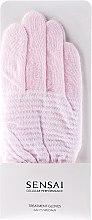 Pflegehandschuhe mit Keramik-Gewebe - Kanebo Sensai Cellular Performance Treatment Gloves — Bild N1