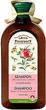 """Shampoo für trockenes und geschädigtes Haar """"Arganöl und Granatapfel"""" - Green Pharmacy — Bild N2"""