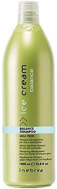 """Aktiv-Shampoo"" für fettende Kopfhaut - Inebrya Ice Cream Balance Shampoo — Bild N1"