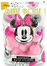 Düfte, Parfümerie und Kosmetik Badebomben Minnie Mouse Erdbeere - Mad Beauty Disney Minnie Mouse Bath Fizzer Strawberry