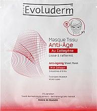 Düfte, Parfümerie und Kosmetik Anti-Aging Gesichtsmaske - Evoluderm Anti-Age Sheet Mask
