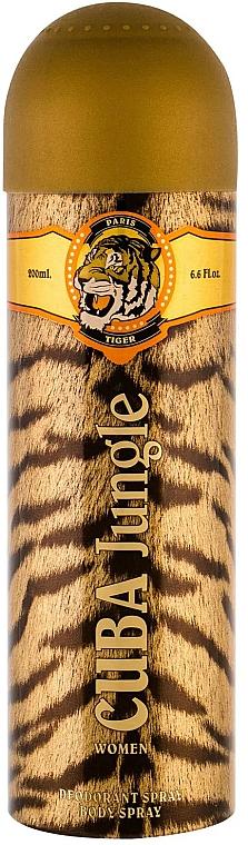 Cuba Jungle Tiger - Deospray