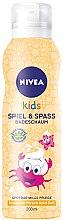 Düfte, Parfümerie und Kosmetik Badeschaum für Kinder mit Pfirsich-Apfel Duft - Nivea Kids Bio Aloe Vera