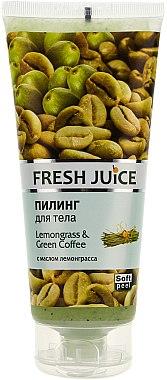 Körperpeeling mit Zitronengras und grünem Kaffee - Fresh Juice Lemongrass Green Coffee — Bild N1