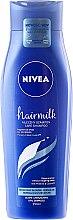 Düfte, Parfümerie und Kosmetik Regenerierendes Shampoo für normales bis dickes Haar - Nivea Normal Hair Milk Shampoo