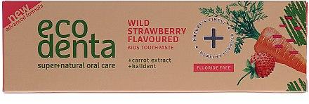 Kinderzahnpasta mit Erdbeergeschmack - Ecodenta Toothpaste — Bild N1