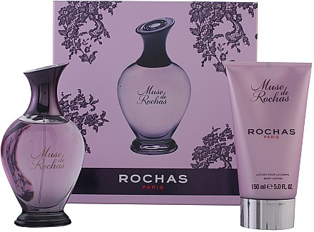 Rochas Muse de Rochas - Duftset (Eau de Parfum/100ml + Körperlotion/150ml) — Bild N1