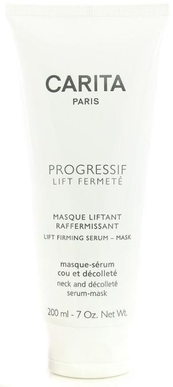 Straffendes Maske-Serum für Hals und Dekolleté - Carita Progressif Lift Fermete Lift Firming Serum Mask — Bild N1