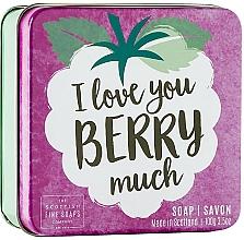 Düfte, Parfümerie und Kosmetik Seife im Metallbox mit Beerenduft - Scottish Fine Soap In A Tin Fruits Berry Soap
