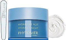 Düfte, Parfümerie und Kosmetik Aufpolsternde reichhaltige feuchtigkeitsspendende Nachtcreme - Phytomer Hydrasea Night Plumping Rich cream