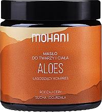 Aloe vera Butter für Körper und Gesicht - Mohani Aloe Vera Rich Batter — Bild N1
