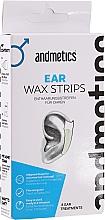 Düfte, Parfümerie und Kosmetik Enthaarungswachsstreifen für die Ohren - Andmetics Ear Wax Strips Men