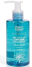 Düfte, Parfümerie und Kosmetik Mizellen-Gesichtsreinigungsgel - MartiDerm Essentials Micellar Cleansing Gel
