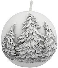 Düfte, Parfümerie und Kosmetik Dekorative Kerze Winter Tree - Artman Christmas Tree Candle Ball Ø8cm