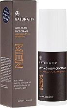 Düfte, Parfümerie und Kosmetik Feuchtigkeitsspendende und beruhigende Anti-Aging Gesichtscreme für Männer - Naturativ Men Face Cream