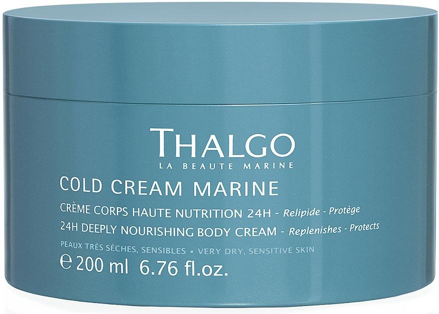 Intensiv nährende Körpercreme für sehr trockene und empfindliche Haut - Thalgo Cold Cream Marine Deeply Nourishing Body Cream