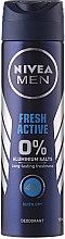 Düfte, Parfümerie und Kosmetik Deospray Antitranspirant - Nivea Men Fresh Active Deodorant