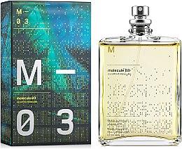 Düfte, Parfümerie und Kosmetik Escentric Molecules Molecule 03 - Eau de Toilette