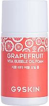 Düfte, Parfümerie und Kosmetik Tiefenreinigendes hydrophiles Gesichtswaschöl mit Grapefruitöl und -extrakt - G9Skin Grapefruit Vita Bubble Oil Foam (Mini)