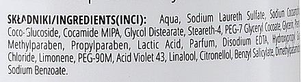 Anti Gelb Shampoo für blones, gebleichtes und graues Haar - Delia Cosmetics Cameleo Silver Shampoo — Bild N4