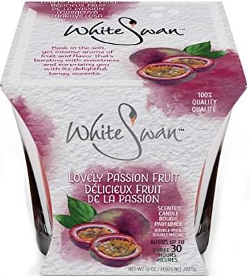 Duftkerze im Glas Lovely Passion Fruit - White Swan Lovely Passion Fruit — Bild N1