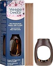 Düfte, Parfümerie und Kosmetik Raumerfrischer Kirschblüte - Yankee Candle Cherry Blossom Pre-Fragranced Reed Diffuser