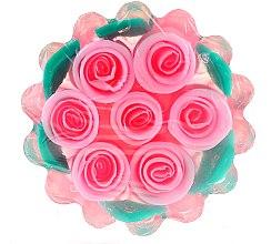 Düfte, Parfümerie und Kosmetik Natürliche Glycerinseife mit Kokos- und Palmöl - Bulgarian Rose Glycerin Soap Rose Fantasy