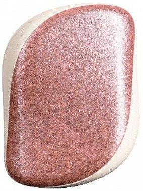 Kompakte Haarbürste - Tangle Teezer Compact Styler Glitter Rose — Bild N1