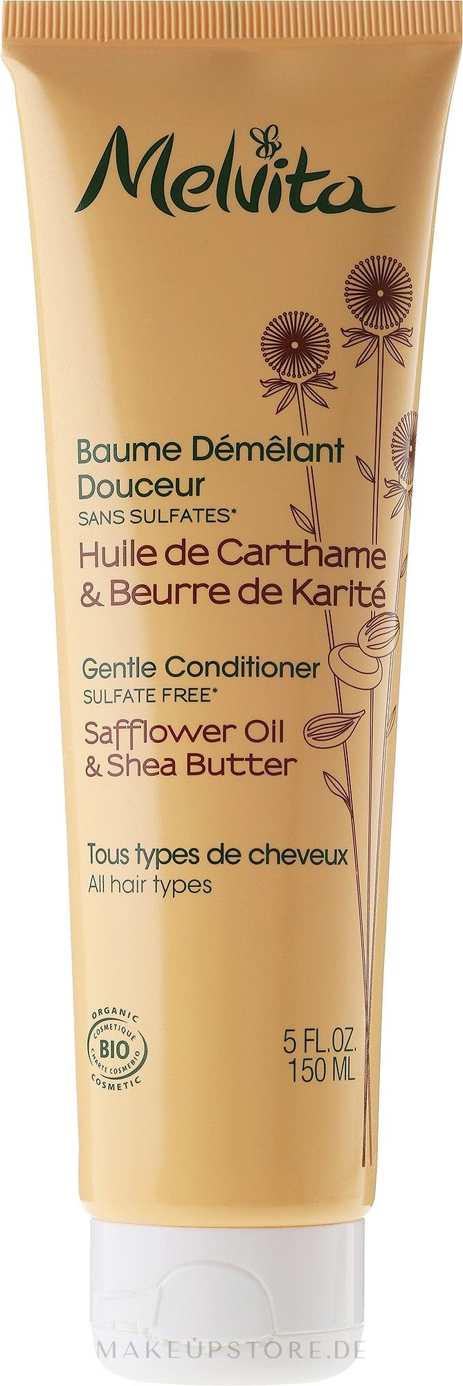 Haarspülung für jeden Haartyp - Melvita Baume Demelant Douceur — Bild 150 ml