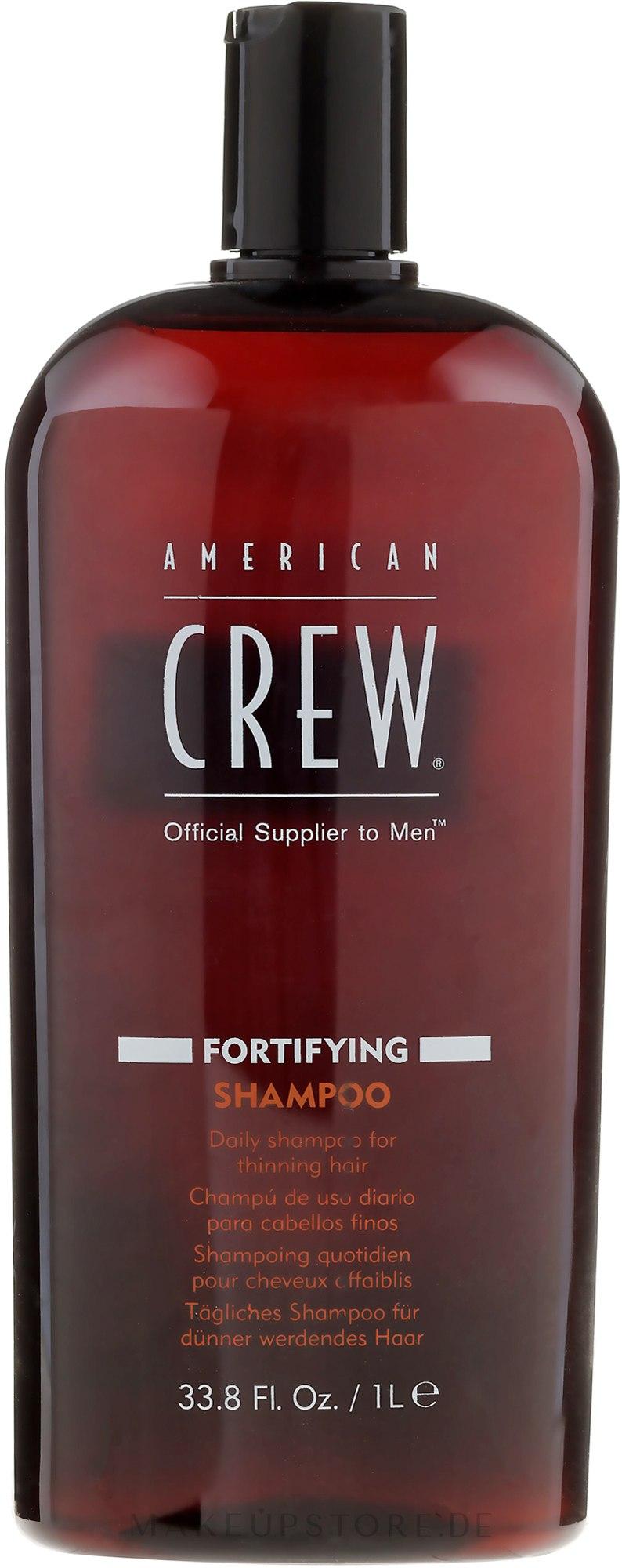 Tägliches Shampoo - American Crew Fortifying Shampoo — Bild 250 ml