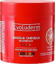 Düfte, Parfümerie und Kosmetik Haarmaske für coloriertes Haar - Evoluderm Color Masque