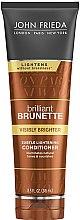 Düfte, Parfümerie und Kosmetik Haarspülung für dunkles Haar - John Frieda Brilliant Brunette Visibly Brighter Subtle Lightening Conditioner