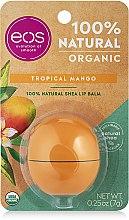 Düfte, Parfümerie und Kosmetik Feuchtigkeitsspendender Lippenbalsam Tropical Mango - EOS Smooth Sphere Lip Balm Tropical Mango