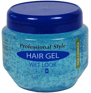 Haarstyling-Gel mit Nass-Effekt - Professional Style Hair Gel Wet Look — Bild N1