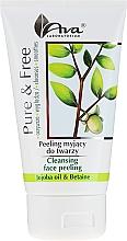 Düfte, Parfümerie und Kosmetik Reinigendes Gesichtspeeling mit Jojobaöl und Betain - AVA Laboratorium Pure & Free Cleansing Face Peeling